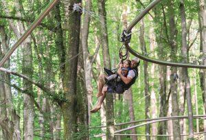 Klettern, Natur, Abenteuer & Freizeit für die Familie im Familywald Ossiacher See