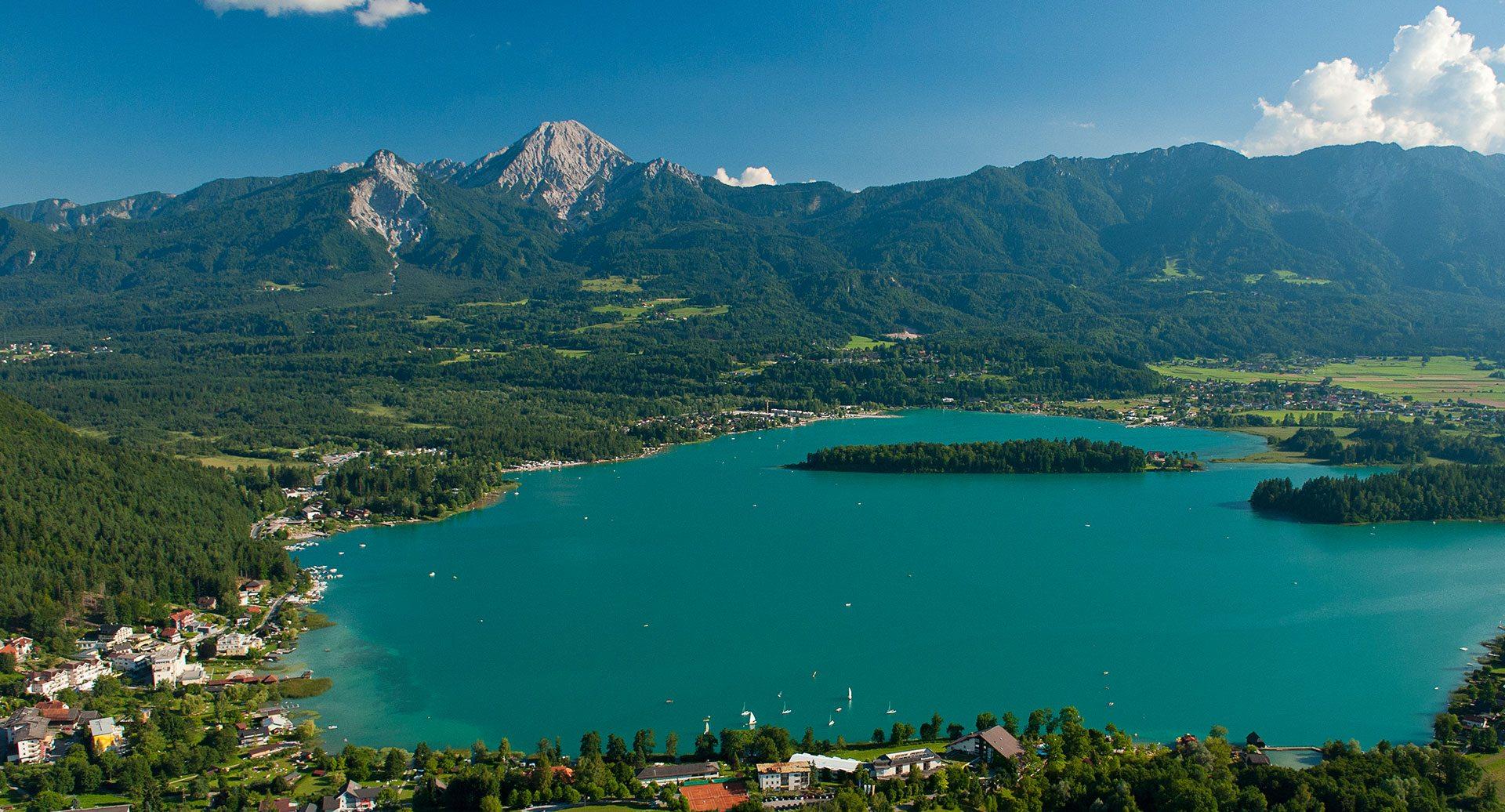 Urlaub, Camping, Faaker See, Kärnten