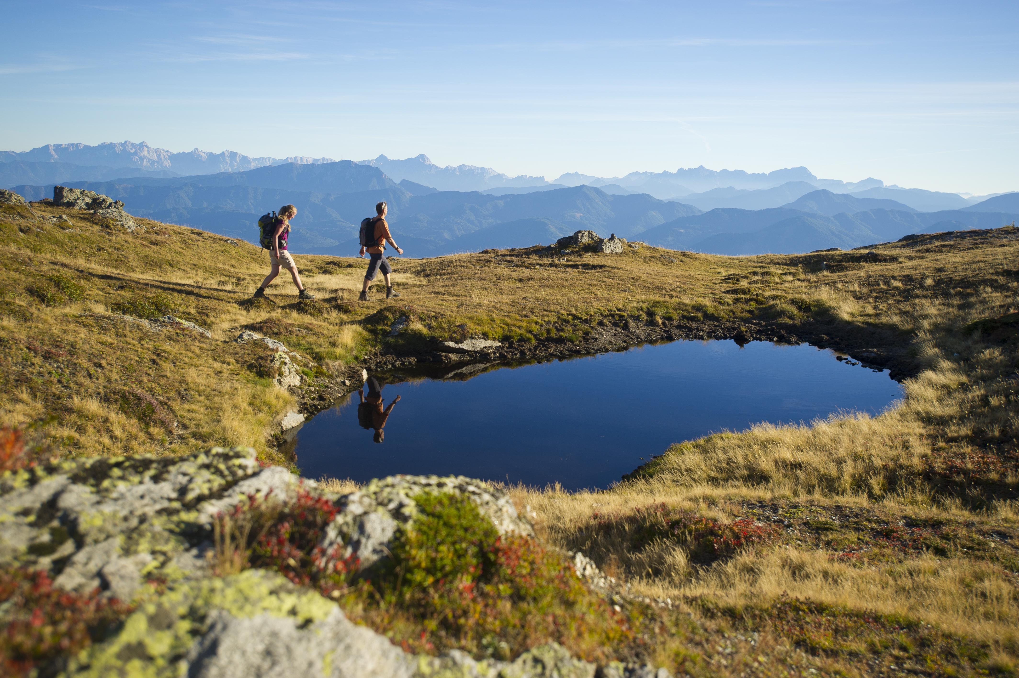 Wandern in Kärnten - Wandern auf der Millstätter Alm!