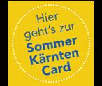 Kärntencard Sommer